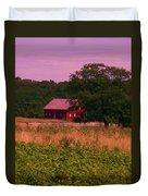 Gettysburg Barn Duvet Cover