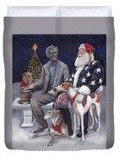 Gettysburg Christmas Duvet Cover
