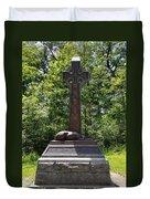 Gettysburg Irish Brigade Monument Duvet Cover