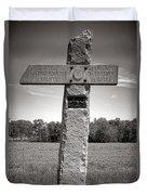 Gettysburg National Park 142nd Pennsylvania Infantry Monument Duvet Cover