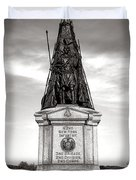 Gettysburg National Park 42nd New York Infantry Monument Duvet Cover