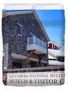 Gettysburg National Park Museum And Visitor Center Duvet Cover