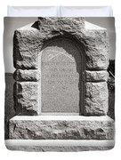 Gettysburg National Park Third West Virginia Cavalry Monument Duvet Cover