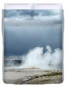 Geyser Field Duvet Cover