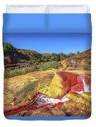 Geysers Of Madagascar Duvet Cover