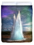 The Great Geysir - Iceland Duvet Cover