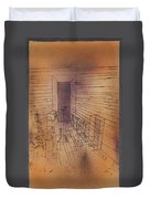 Ghost Chamber With The Tall Door New Version Duvet Cover