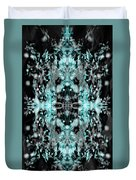 Ghost Flake Inverted Duvet Cover by Reed Novotny
