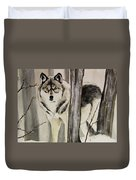 Ghost In The Woods Duvet Cover