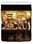 Ghost Musicians Duvet Cover