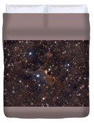 Ghost Nebula Duvet Cover