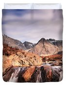 Ghost Of The Fairy Pools Duvet Cover