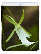Ghost Orchid  Duvet Cover