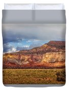 Ghost Ranch Red Duvet Cover