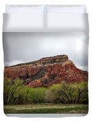 Ghost Ranch View Duvet Cover