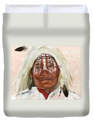 Ghost Shaman Duvet Cover