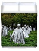 Ghost Soldiers Duvet Cover