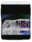 Ghostly Bridge Duvet Cover