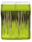 Ghostly Forest Duvet Cover