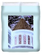 Ghostly Heights Manor Duvet Cover