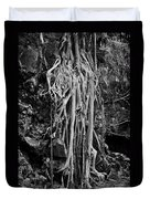 Ghostly Roots - Bw Duvet Cover