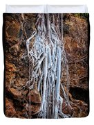 Ghostly Roots Duvet Cover