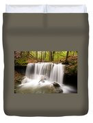 Ghostly Waterfall Duvet Cover