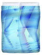 Ghosts In The Pool Duvet Cover