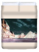 Ghosts Of The Louvre Museum 2  Art Duvet Cover