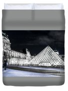 Ghosts Of The Louvre Museum  Art Duvet Cover