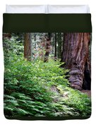 Giant Among The Forest Duvet Cover
