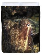 Giant Cuttlefish Camouflage Duvet Cover