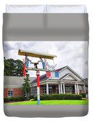 Giant Folk-art Weathervane 1 Duvet Cover