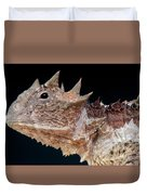 Giant Horned Lizard Duvet Cover