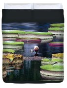 Giant Lily Pads Duvet Cover