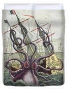 Giant Octopus Duvet Cover