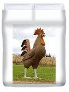 Giant Rooster Duvet Cover