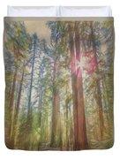 Giant Sequoias Duvet Cover