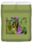 Giant Swallowtail Two Duvet Cover