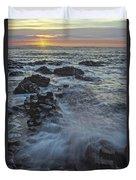 Giant's Sunset Duvet Cover