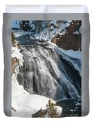 Gibbon Falls Duvet Cover
