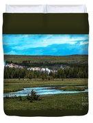 Gibbon River Valley Duvet Cover