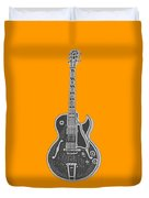 Gibson Es-175 Electric Guitar Tee Duvet Cover