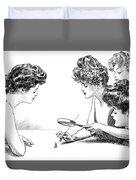 Gibson Girls 1904 Duvet Cover