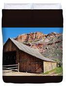 Gifford Homestead Capitol Reef National Park Duvet Cover
