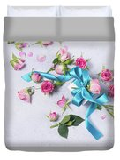 Gift And Flowers Duvet Cover