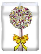 Gift Of Happiness Duvet Cover