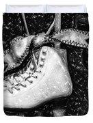Gift Of Ice Skating Duvet Cover