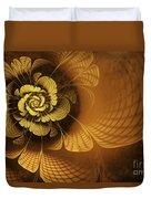 Gilded Flower Duvet Cover
