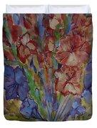 Gilded Flowers Duvet Cover